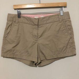 J.Crew Khaki Broken in Chino Shorts